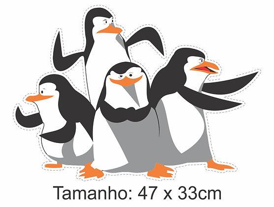 Adesivo Pinguins