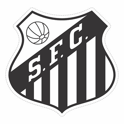 Adesivo Times - Santos SP