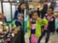 Beema honey customers at Lippo Mall Puri