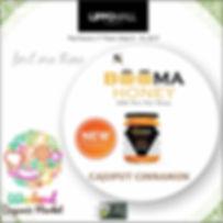 Beema honey at weekend organic market the Forum