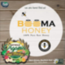 beema honey at Baywalk organic pop up market