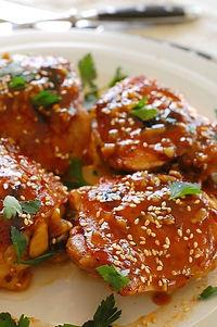 soy honey glazed chicken
