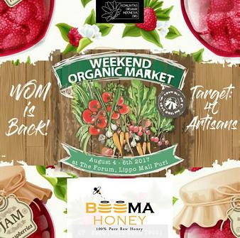 Weekend Organic Market at Lippo Mall Puri