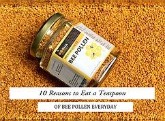 bee pollen golden nuggets for Beema honey