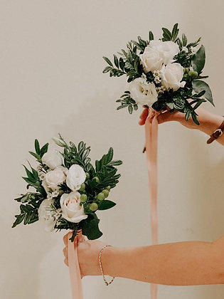 Bridesmaid and Flower Girl Bouquets