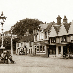 The Square. Early 1920's. BW00100070