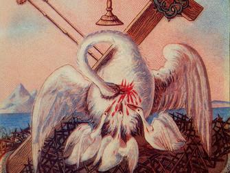 Пеликан - эмблема русской карточной традиции
