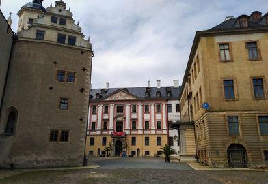 Здание музея игральных карт в Альтенбурге