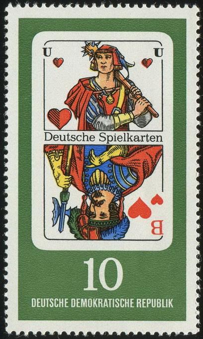 Deutsche Spielkarten 10