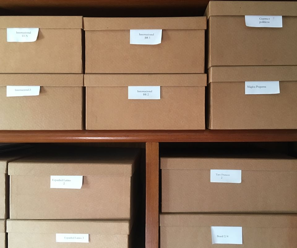 Хранение игральных карт в коробках