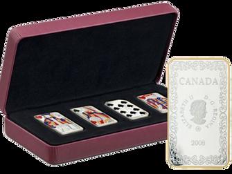 Игральные карты на монетах