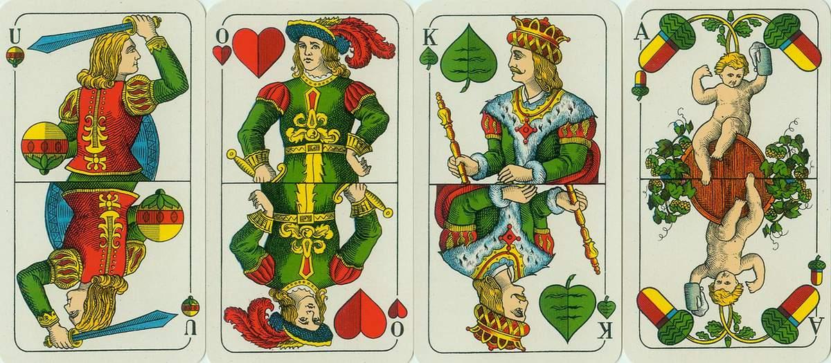 Баварский шаблон (двухголовый)