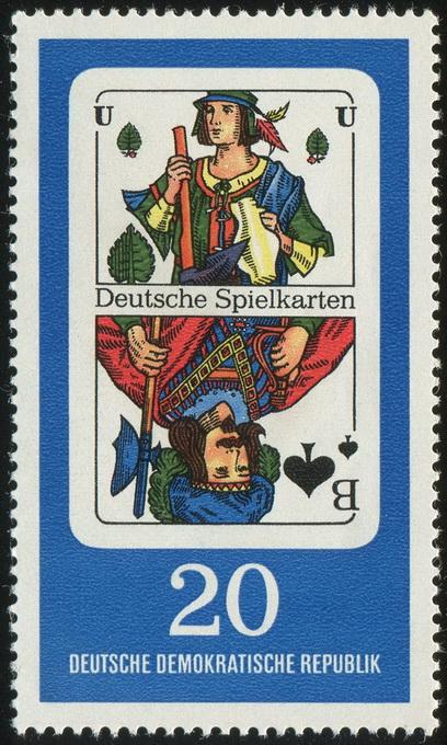 Deutsche Spielkarten 20