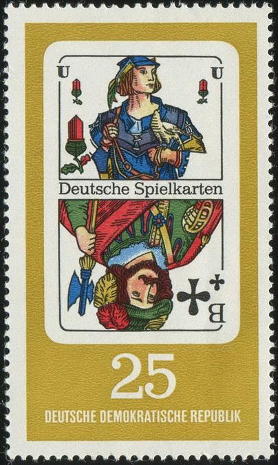 Deutsche Spielkarten 25