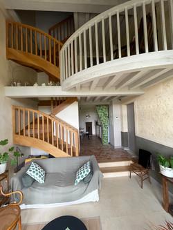 Vue escaliers Céline