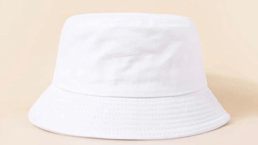 Bucket Hat (White)