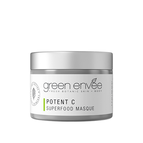Green Envee POTENT C SUPERFOOD MASQUE 50ML