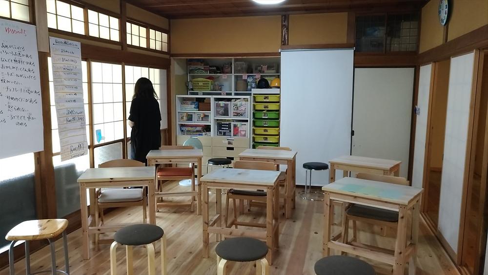第1クラスルーム(後方)