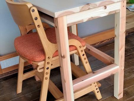 [改装2]惟の森の机と椅子