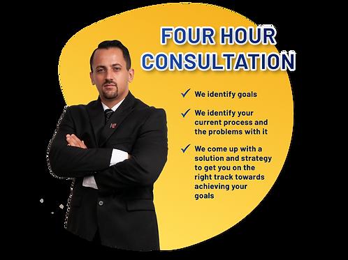 4 Hour Consultation