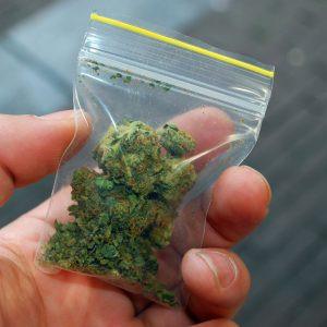 Arrestation pour possession illégale de marijuana à New York et délivrance d'un Desk Appearance Tick