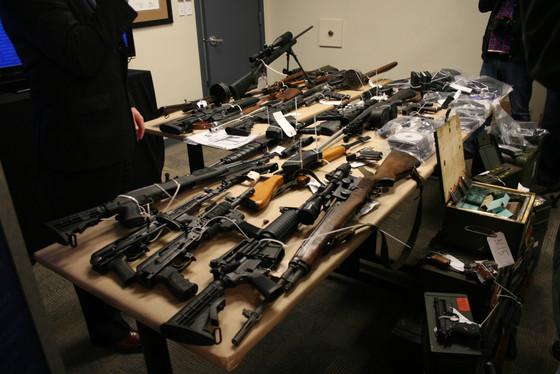 La répression du trafic d'armes international aux Etats-Unis