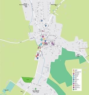 Plan de ville de Cambremer