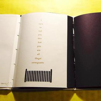 B&W Art Book Instagram Ad