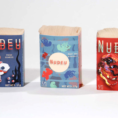 Nudeu Soap Package Design