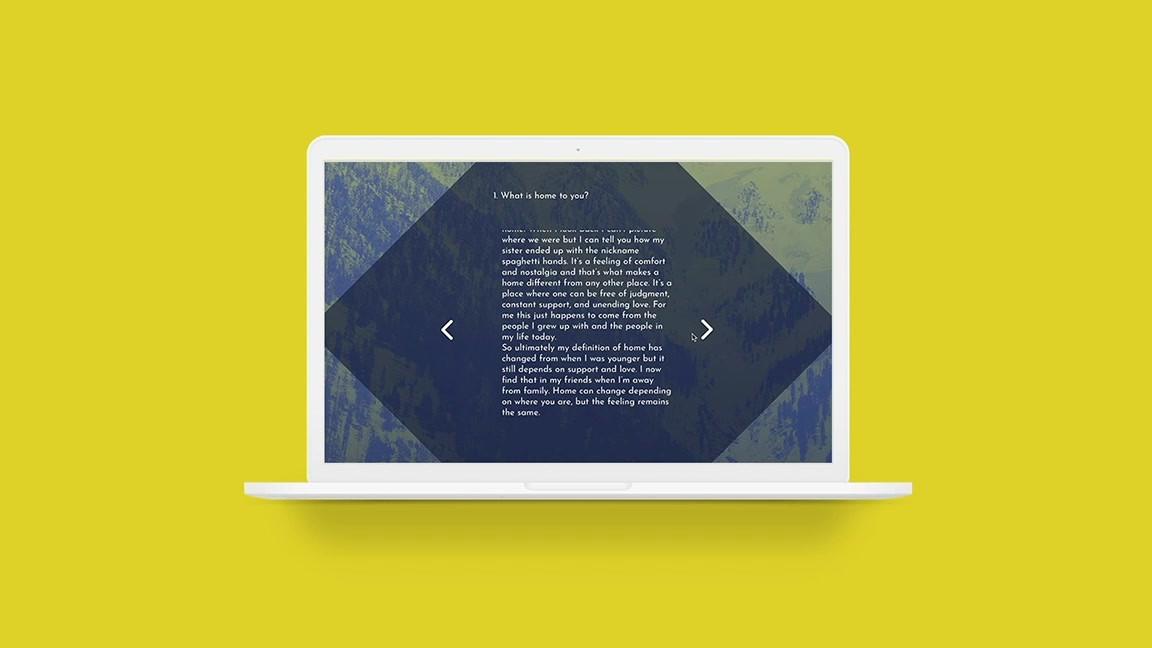 Website Design: Home Interrupted
