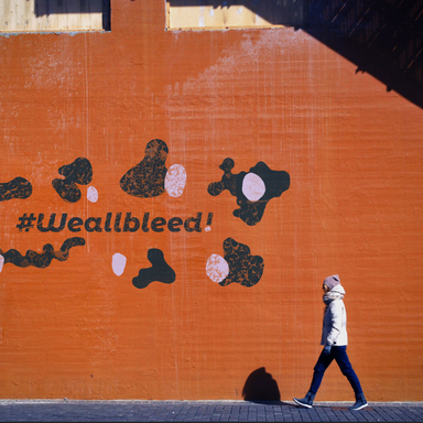 We all bleed!