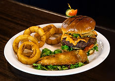 Green Chile Cheese Burger For Mine Shaft