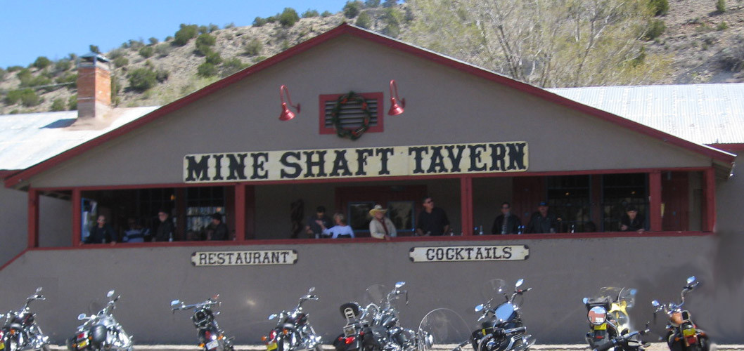 The Mine Shaft Tavern In Madrid New Mexico