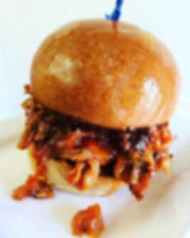 A favorite at Maywood- BBQ Pulled Pork o