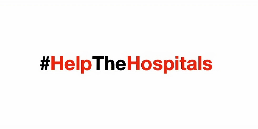 HELP THE HOSPITALS