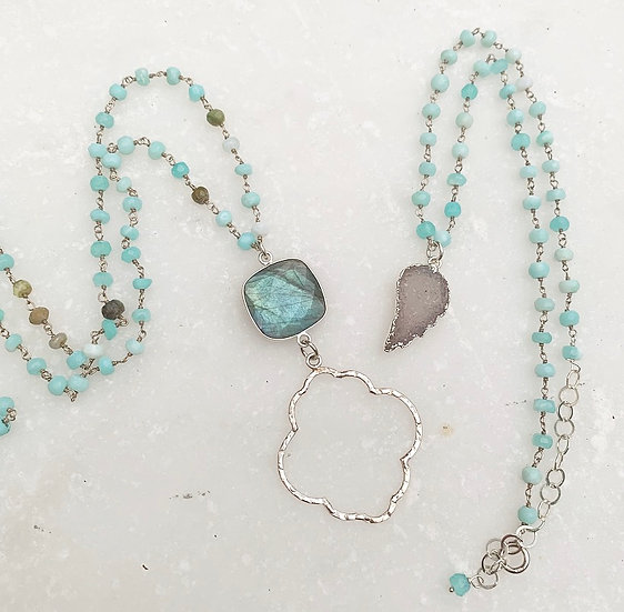 Peruvian Opal Necklaces