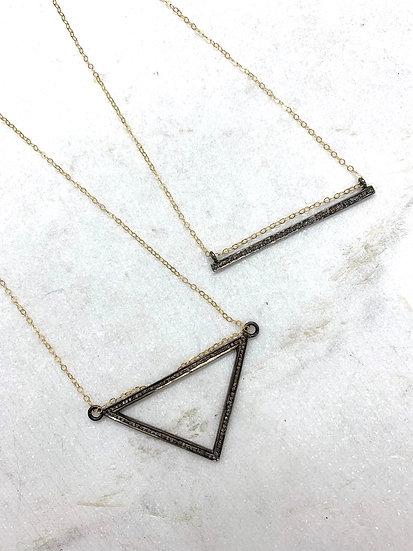 Pave' diamonds