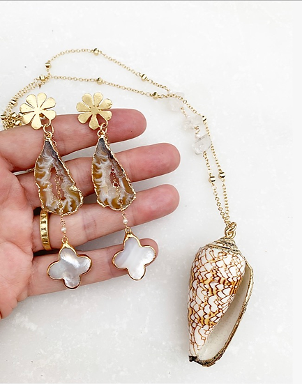 Neutral Agates and Shells