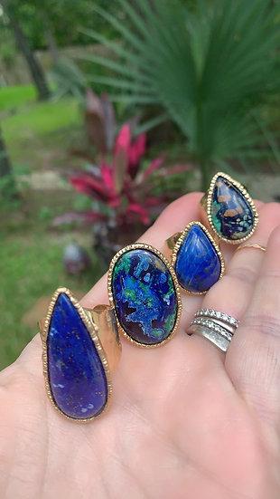 Beautiful in Blue Rings