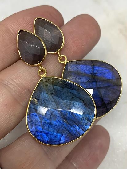 Blue Labradorite Drops