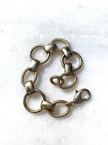 Copy of Chunky Large Gold Bracelet