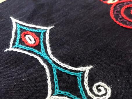 【2021/7/14(水) Feel the JOMON ✴︎『感じる』縄文ワールドVol.1縄文刺繍〜〜縄文文様と向き合う静の瞑想刺繍〜】