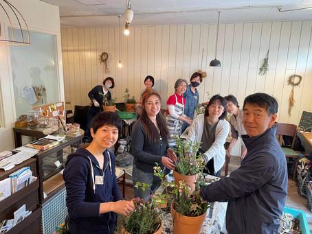 【2021/5/30(日) 大地の再生流*森の寄せ植えWS 】