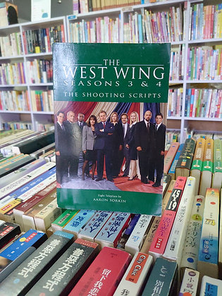 The West Wing Season 3&4 The Shooting Scripts (Aaron Sorkin)