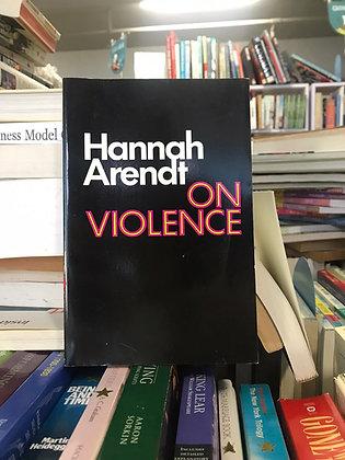 On Violence (Hannah Arendt)