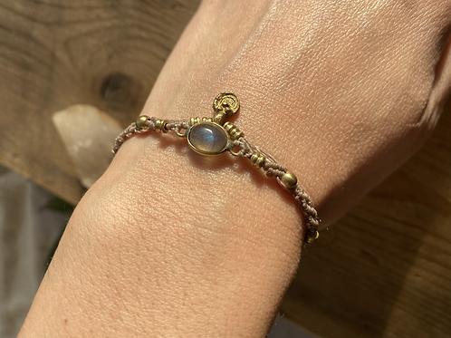 Labradorite's Eye Bracelet