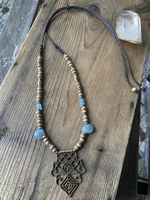 Aquamarine Keeper necklace