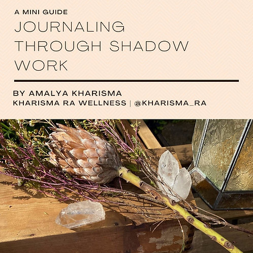 Journaling through Shadow Work - A mini guide