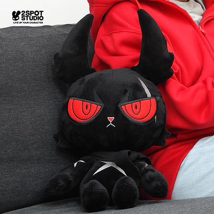 DARK RABBIT PLUSH DOLL 14""