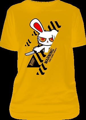 Bloody Bunny Warning T-Shirt